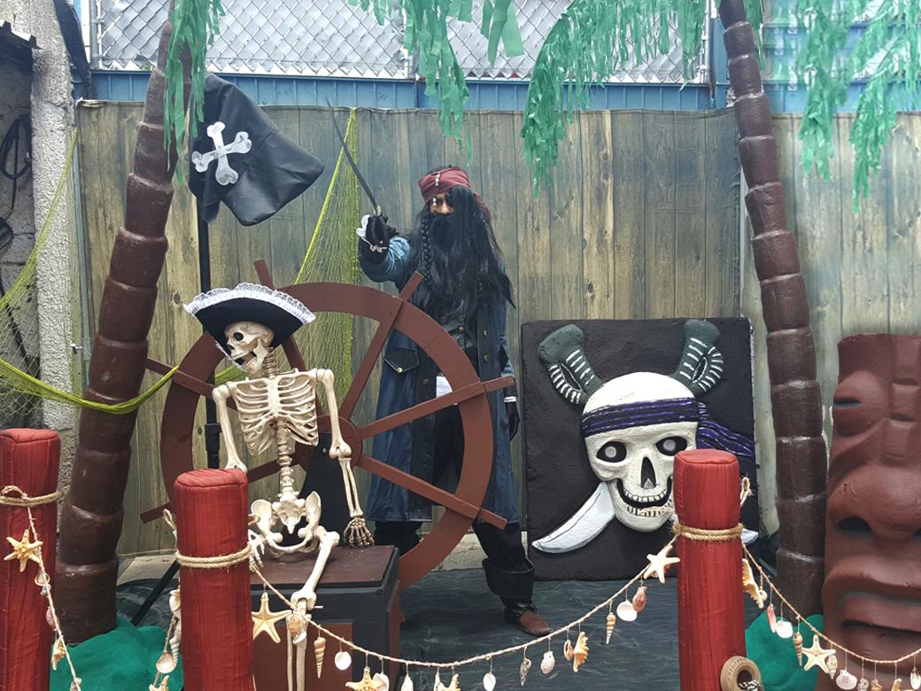 Decoraci 243 N Pirata Casafiestas Luz Y Sonido En
